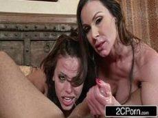 Mulheres gostosas fazendo video porno com o macho roludo