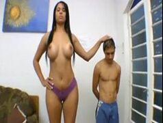 Elizabeth Baldochi cavala brasileira dando para o tampinha