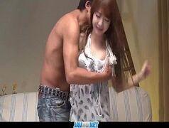Japonesa novinha metendo bem gostoso com seu namorado