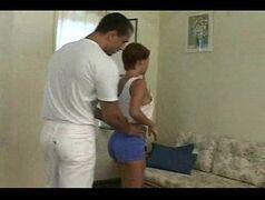 Mulher casada dando depois da massagem