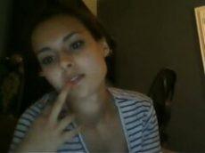 Novinha famosa da espanha toda peladinha na frente da webcam