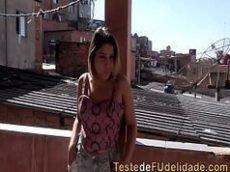 Putinha da favela fode depois do baile funk