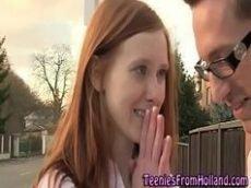 Redhead hd  com novinha dando para seu professor