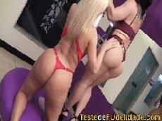 Videos porno brasileiro com duas belas lésbicas gostosas se pegando