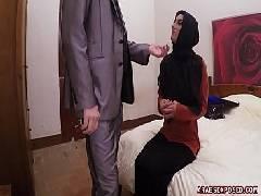 Safadinha do mundo árabe dando para o empresário de Dubai