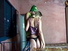 Teste de fudelidade com a loira da favela