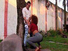 Teste de fudelidade com mulata brasileira