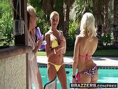 Brazzers onde rola uma festa com muita putaria