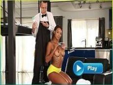 Negra do corpo perfeito em x vidios porno