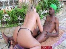 Brasileira casada fudendo com negrao