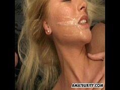 Gozadas com uma loirona toda tesuda e gostosa que adora uma pica dentro de sua boquinha de veludo toda cremosa