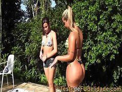 Brasileiras lésbicas do pornozinho fazendo sexo