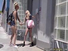 Lesbicas transando no buraco do prazer com um negão