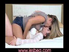 Video lesbico de duas gostosas trepando