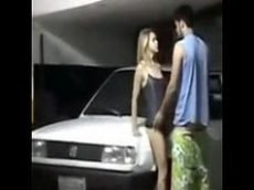 Viviane araujo pelada fazendo sexo no estacionamento