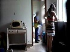 Srxo de mulher dando para o encanador